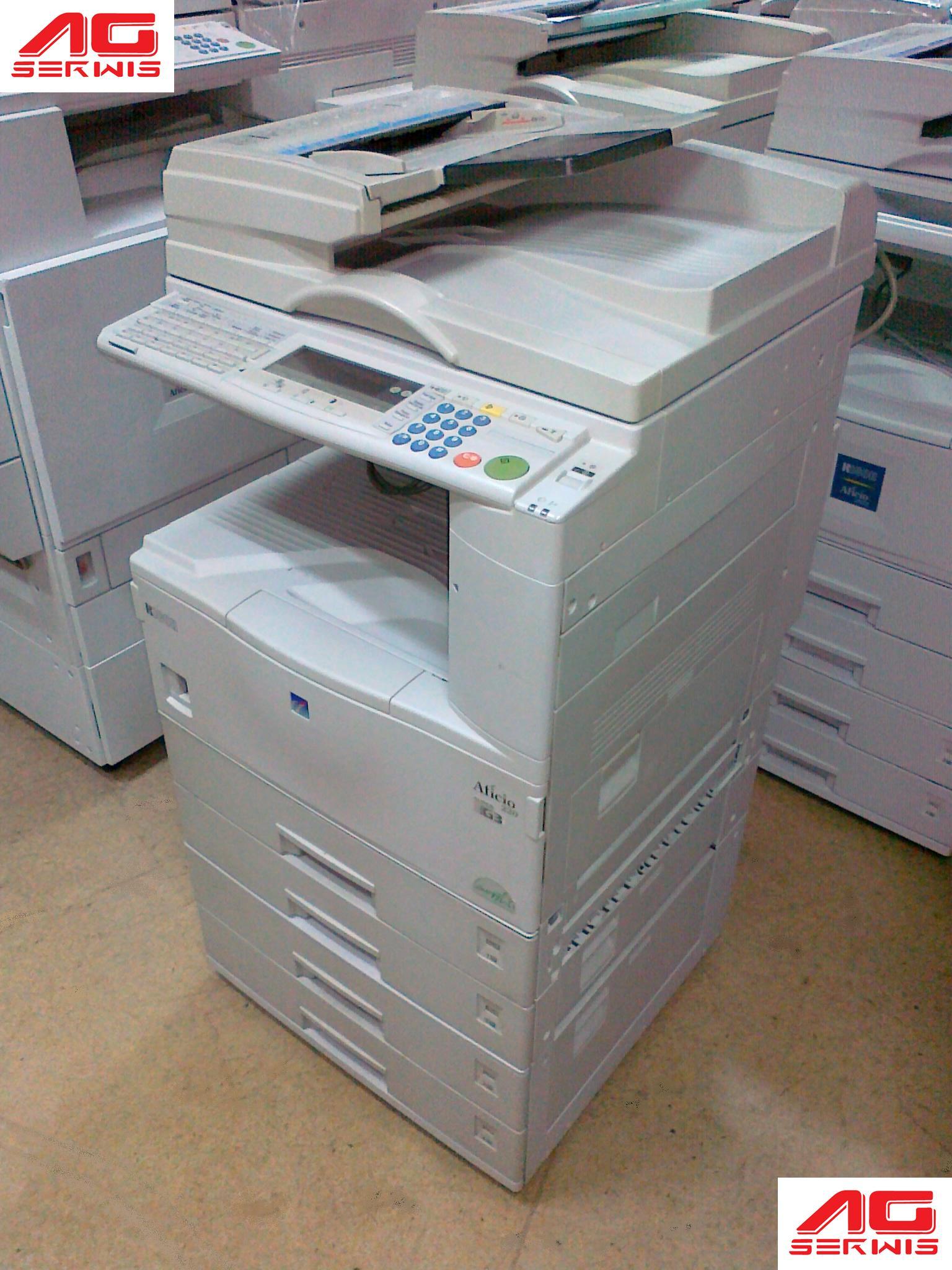 dzierżawa kopiarki